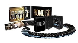 007 製作50周年記念版 ブルーレイ BOX 〔初回生産限定〕 [Blu-ray]