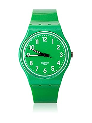 Swatch Quarzuhr Unisex Unisex FLAKY GREEN GG212 34.0 mm