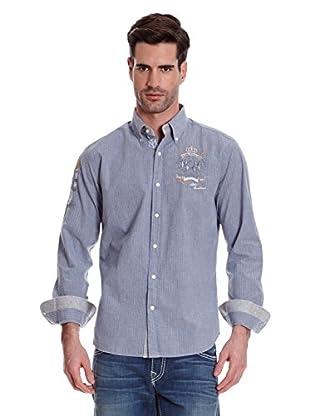 La Martina Camisa Hombre (Azul)
