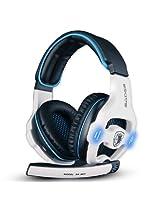 Sades SA903 Gaming Headset (White)