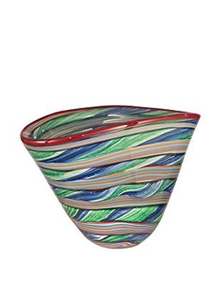 Dale Tiffany Striped Bowl, Multi