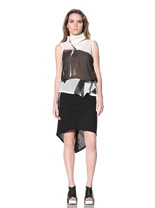 Ann Demeulemeester Women's Asymmetrical Sleeveless Top (Off-White)