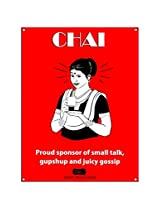 Chai Heavy Metal Sign