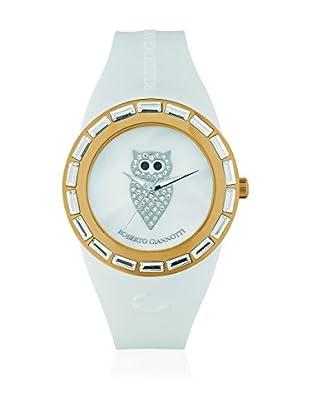 ROBERTO GIANNOTTI Reloj de cuarzo Woman I Misteri Della Notte Time Blanco / Oro 37 mm