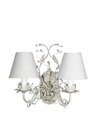 Romantic Style Lámpara De Pared Gris