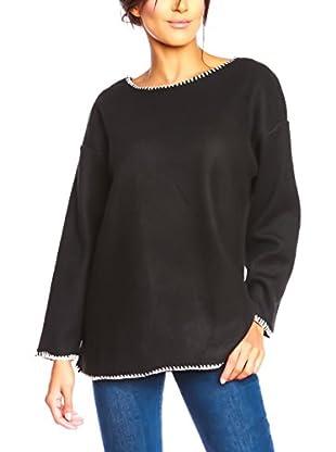 Special Coat Sweatshirt Miel schwarz L