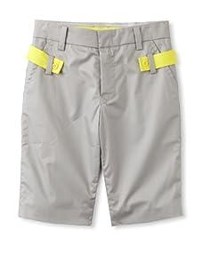 kicokids Boy's Slim City Bermuda Shorts (Grey)