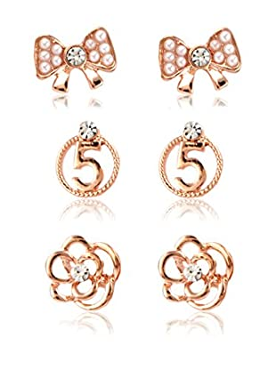 CHAMAY Pendientes Gold Toned