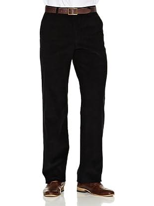 Dockers Pantalón Pana Fina Comfort (Negro)