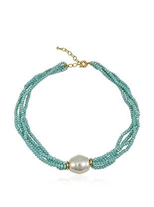 Devota & Lomba Armband blau