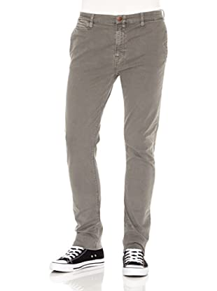 Nudie Jeans Pantalón Khaki Tight (Gris)