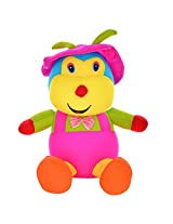 Twisha Lycra Monkey With Cap And Bow Multi 9 X 8 X 17 Inch