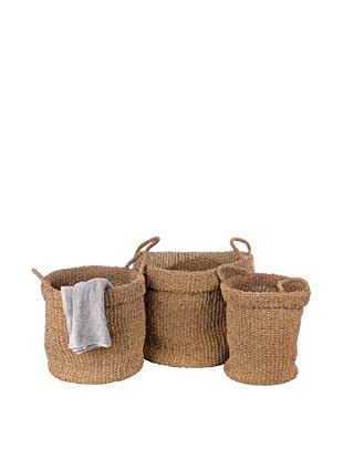 Skalny Set of 3 Seagrass Hampers