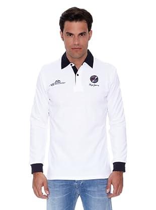 Pepe Jeans London Polo Circuit (Blanco)