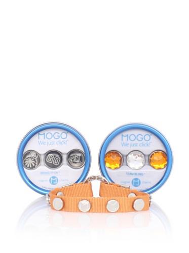 MOGO Design Orange Sports Charm & Band Bundle