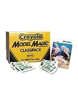 Crayola 236001 Model Magic Modeling Compound, 1 Oz Each Packet, White, 75 Oz