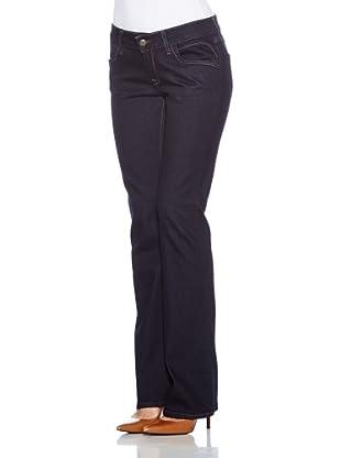 Cross Jeans Pantalón Vaquero Laura (Azul Oscuro)