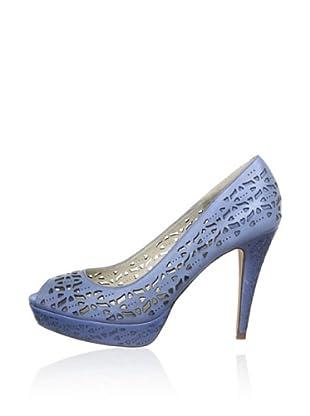 Bronx Zapatos Troquelados (Azul)