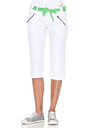 Rox Pantalón Pirata Pecas (Blanco)