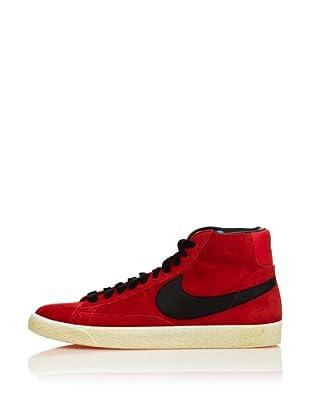 Nike Zapatillas Blazer Suede Vintage (Rojo / Negro)