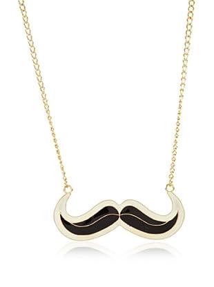 Poète Collar Mustache Bicolor (Negro)
