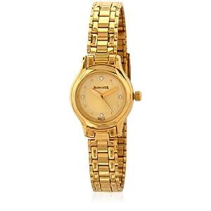 Sonata Wedding Analog Gold Dial Women's Watch - 8956YM08