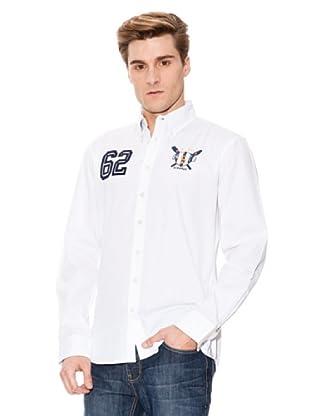 Paul Stragas Hemd ML Unie (Weiß)