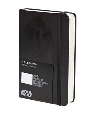 Moleskine 2014 Agenda Star War Edición Limitada  Negra 12M
