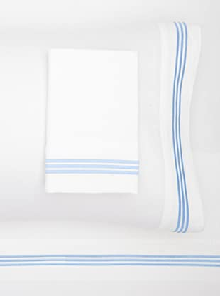 Westport Linens 3 Line Embroidery Sateen Sheet Set