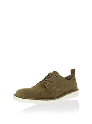 Andrew Marc Men's Baxter Lace-Up (Sand Stone/Cream)