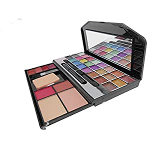 Kiss Beauty Makeup Kit-Collection Eye Shadow, Blusher, Compact Powder, Lip Gloss, Eye Pencile-9244 DFXZ