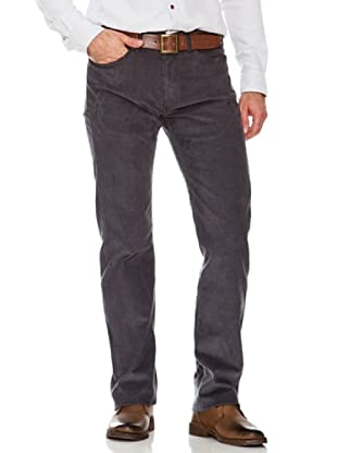 Dockers Pantalón 5 Bolsillos de Pana (gris)