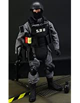 30 Places Moving! Special Forces Military Figure Sdu Total Length 30cm Tactical Vest Balaclava Rifle Boots Nipatto ... Etc All Accessories 32 Types! Swat