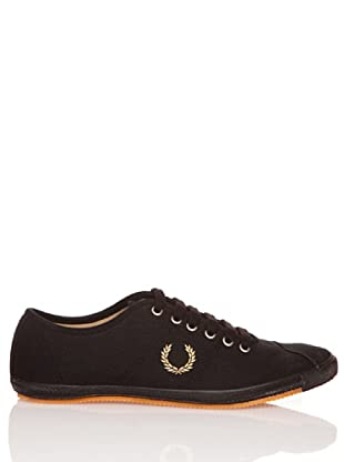 Fred Perry Deportiva Table Tennis Canvas (Negro)