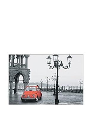 ArtopWeb Panel de Madera Cinquecento Piazza San Marco 90x60 cm