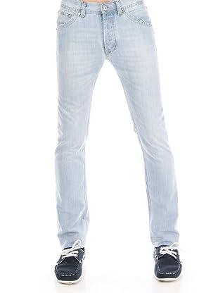 Cortefiel Pantalón Low Stretch (azul claro)