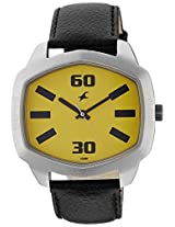 Fastrack Analog Yellow Dial Men's Watch - 3119SL02