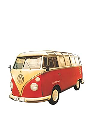 Artopweb Panel Decorativo Californian Camper Route One Legno