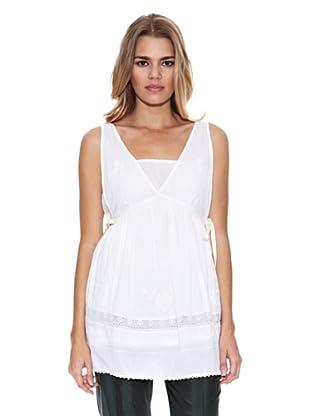 Monoplaza Vestido Kate (Blanco)