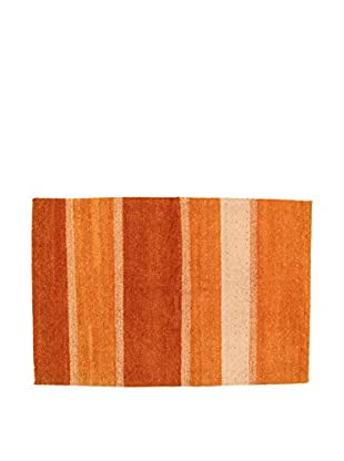 Design Community By Loomier Teppich Gabbeh orange 200 x 140 cm