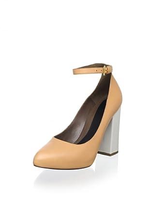 Marni Women's Ankle-Strap Pump (Powder)