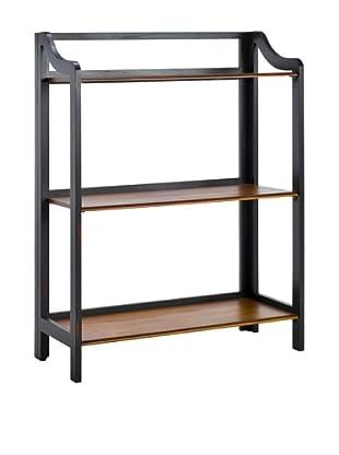 Safavieh James Bookshelf, Black/Brown