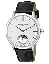 Frederique Constant Men's FC705S4S6 Slim-Line Stainless Steel Watch