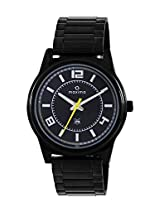 Maxima Attivo Analog Black Dial Men's Watch - (36611CMGB)