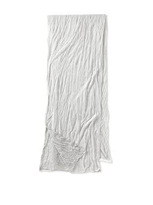 Ann Demeulemeester Men's Two-Tone Scarf (Off-White/Grey Chine)