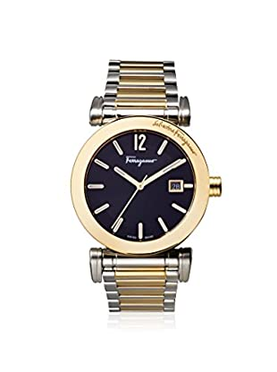 Salvatore Ferragamo Men's FP1960014 Salvatore Two-Tone/Black Stainless Steel Watch