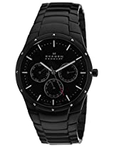 Skagen Analog Black Dial Men's Watches's Watch - 596XLTMXB
