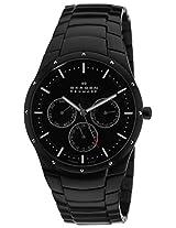 Skagen Analog Black Dial Men's Watches's Watch - 596XLTMXB