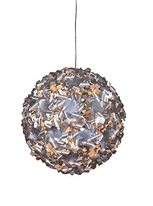 Varaluz Pinwheel 9-Light Large Pendant, Aluminum