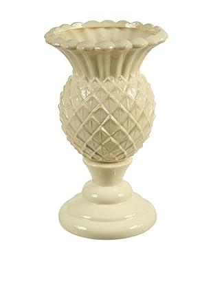 Winward Ceramic Pineapple Vase, Cream